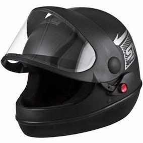 Capacete Pro Tork Sport Moto Preto Fosco 60