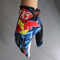 Luva Trilha Motocross Mtb Moto Bike Red Bull Ktm Tam. M