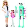 Barbie Carreras Oculista Playset Envío Gratis