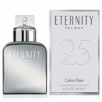 Perfume Calvin Klein Eternity 25th Anniversary Edition Cab.