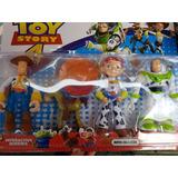 Kit Toy Store Woody Coleção 4 Personagens Disney