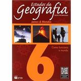 Estudos De Geografia 6° Ano Edição Reformulada