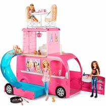 Barbie Family Novo Mega Trailer Cjt42 Mattel