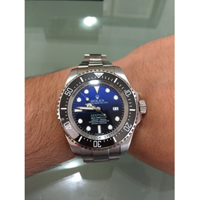 Reloj Rolex Deepsea Sea-dweller Automatico Acero Fondo Azul