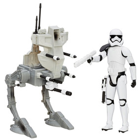 Veículo Com Boneco 30cm Star Wars Episode Vii Assault Walker