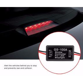 Control Estrobo Led Stop Freno Auto Moto Anti-colision