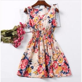 Vestido Casual Corto Mayoreo Moda Asiatica Japonesa Coreana