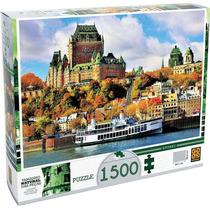 Quebra Cabeça - Puzzle 1500 Peças - Quebec - Grow