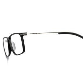 f5306f84c7f79 Armação Oculos Grau Acetato metal Preto Importado Ref21 - Óculos no ...