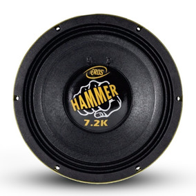 Woofer Eros Hammer 7.2k 3600 Rms 12p 4ohms Competição