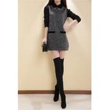 Mei Fashion / Vestido Otoño-invierno / Moda Coreana