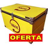Caixa Termica 50 Lts Skol Cool Premium Conser Por Até 24 Hrs