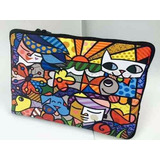Case P/ Notebook Simples 15.6 - Romero Britto