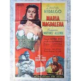 Afiche De María Magdalena - Laura Hidalgo