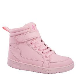 Tenis Casual Bota Urban Shoes 0704 Rosa Niños