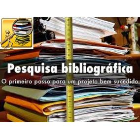 Pesquisa Científica Consulta Detalhada Por Tema Bibliografia