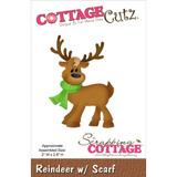Reindeer W/scarf Die / Suaje De Venado Con Bufanda