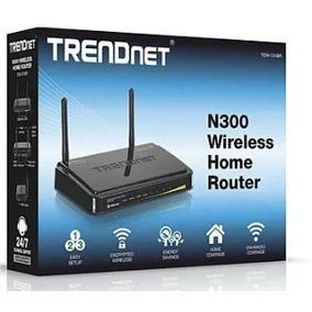 Router Wireless Trendnet Inalambrico Doméstico N300 2antenas