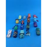 Lote De 17 Carritos Cars Disney Huevo Tipo Kinder Rayo Cars