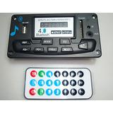 Modulo Reproductor Bluetooth Mp3 Usb Fm