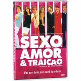 Dvd Sexo Amor & Traição Murilo Benício Malu Mader Lacrado