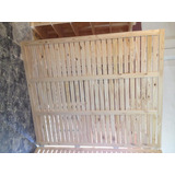 Divisor De Ambiente / Separador / Panel / Biombo En Madera
