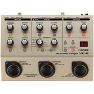 Pedal Boss Ve-8 Voz E Violão Loop Efeitos Processador Vocal