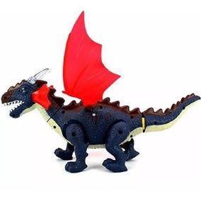 Dragão Dinossauro Brinquedo. Anda, Acende Luzes. Emiti Sons