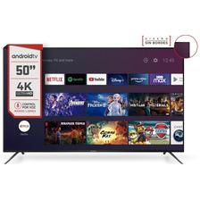 Smart Tv 50 Pulgadas 4k Ultra Hd Cdh-le504ksmart22 - Hitachi
