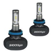 Kit Lampada Led Automotiva Ultra Led Shock Light Encaixe H11