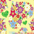 nº 012 Flores Corações Floral