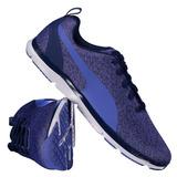 Tênis Puma Flex Xt Knit Feminino Azul