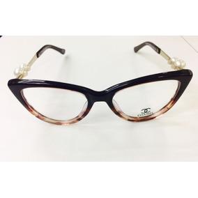 dd4ebfd2b51b7 Armação Chanel Em Massa Preta Colecção Out inv De Sol - Óculos no ...