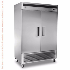 Congelador Industrial 2 Puertas Acero Crt Mbf8503 46 Pies