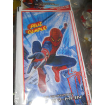 Combo Cotillon 20 Niños Spiderman