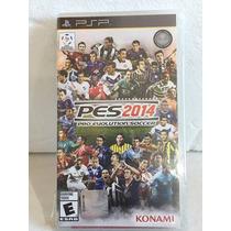 Sony Psp : Pes 14 Pro Evolution Soccer 2014 Novo Lacrado