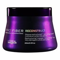 Máscara Loreal Pro Fiber Reconstruct Regenera 200g + Brinde