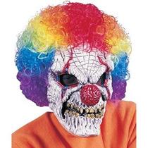 Disfraz Niño Máscara De Payaso Con Peluca
