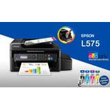 Impresora Epson L575 Wifi Y Fax Con Sistma Continuo Original