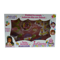 Torta Grande Musical Bilingue Juliana