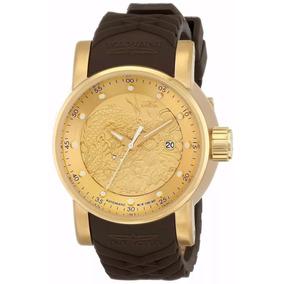fcec5cf1cc8 Relógio Invicta S1 Yakuza 12790 Marrom Original C Cx Plw2925