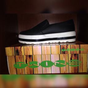 Zapatos Altos Colombianos Twine Números 37 Color Negro