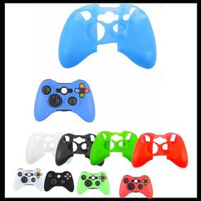 Controle Xbox360 Capa Case Skin Silicone Várias Cores Barato