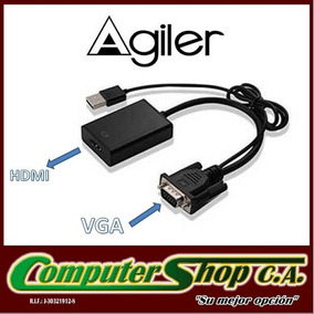 Adaptador Vga A Hdmi / Agiler / Agi-1218