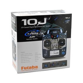 Rádio Futaba 10j Mode 2 Para Aero Heli Com Receptor R3008sb