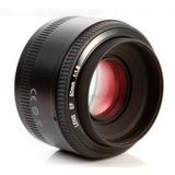 Lente Fijo 50mm Yongnuo P/canon Yn50mm F/1.8 Garantia Nuevo