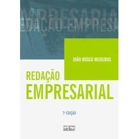 Livro Redação Empresarial João Bosco Medeiros