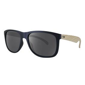 4a4bb7ae481f0 Óculos De Sol Hb Ozzie Matte Black   Wood L Gray