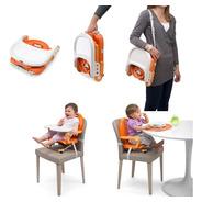 Silla Comer Bebe Chicco Pocket Booster Portatil Plegable