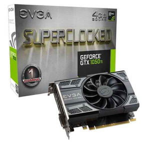 Placa De Vídeo Vga Evga Geforce Gtx 1050ti Sc Gaming 4gb